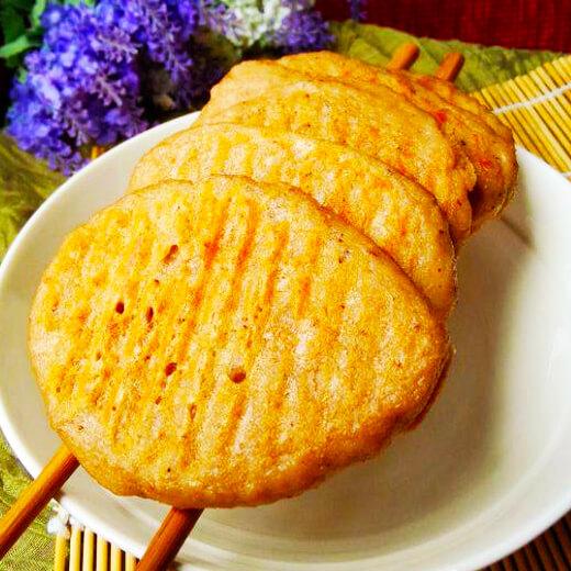 白菜豆渣饼