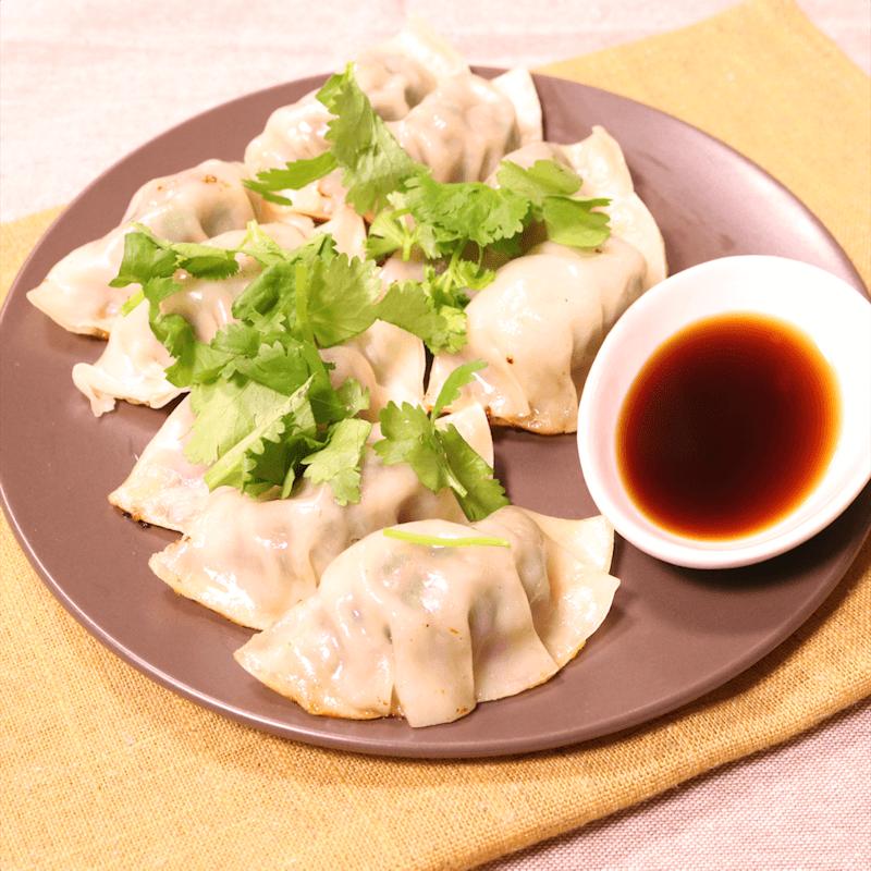 笋丁香菇饺子