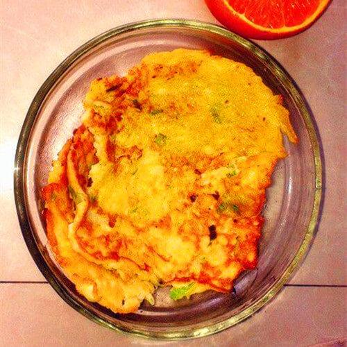 圆白菜土豆饼