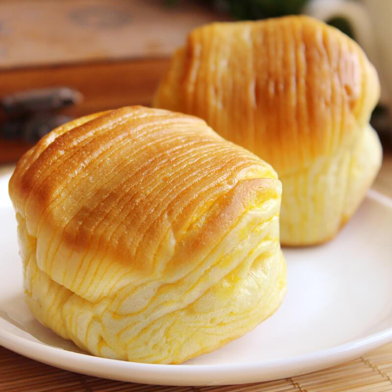 蜂蜜牛奶小面包