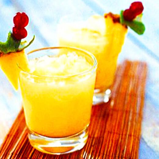香橙菠萝汁