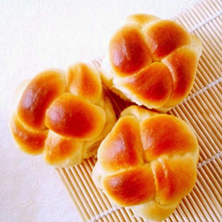 #幸福时刻#绣球面包