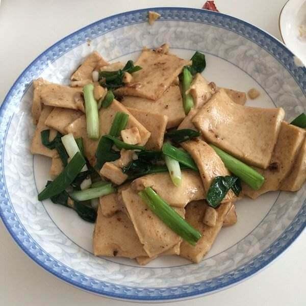 豆腐南瓜叶