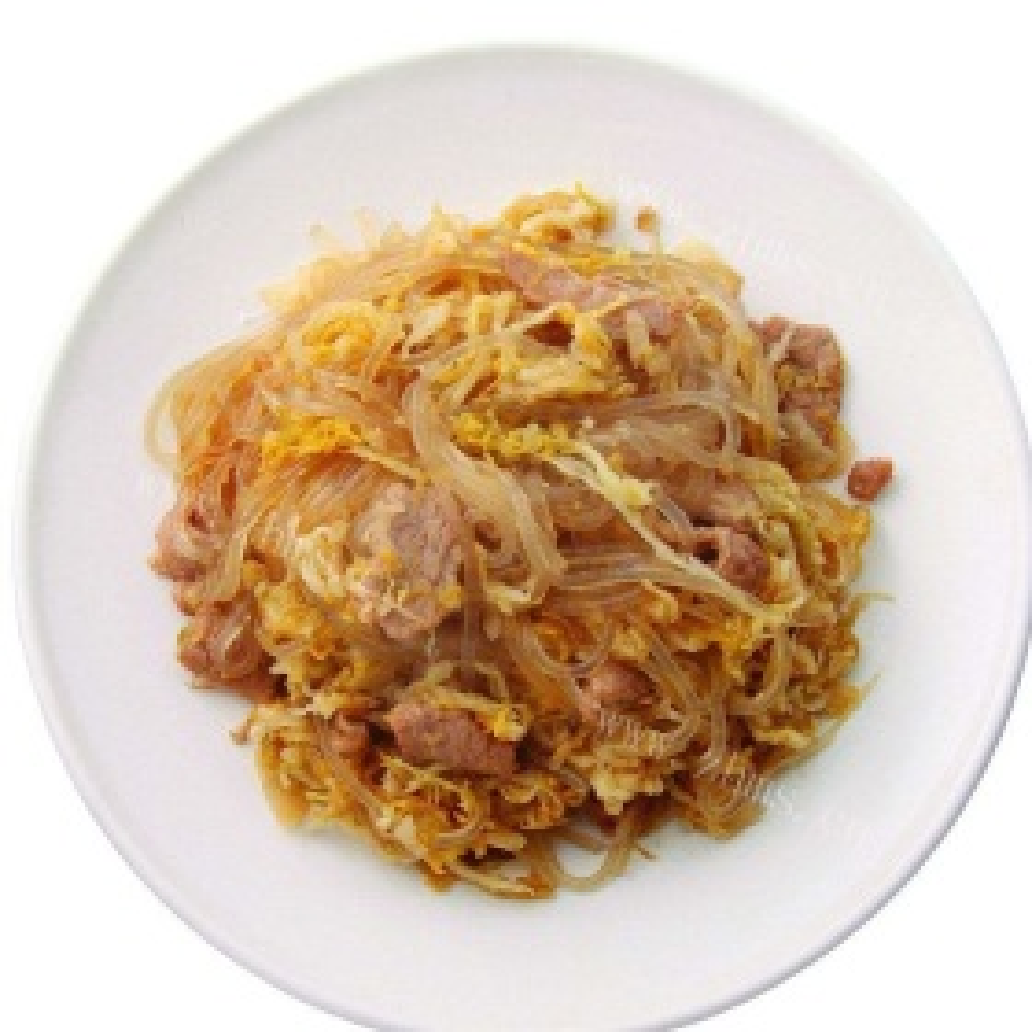 酸菜白肉炒粉丝