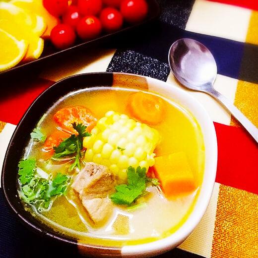 鱼鳔南瓜排骨汤