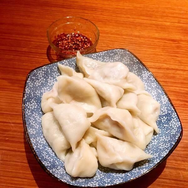 青椒海螺猪肉水饺