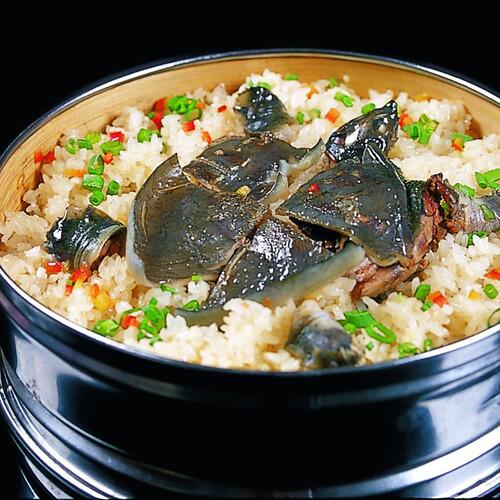 鲜美清蒸淡甲鱼
