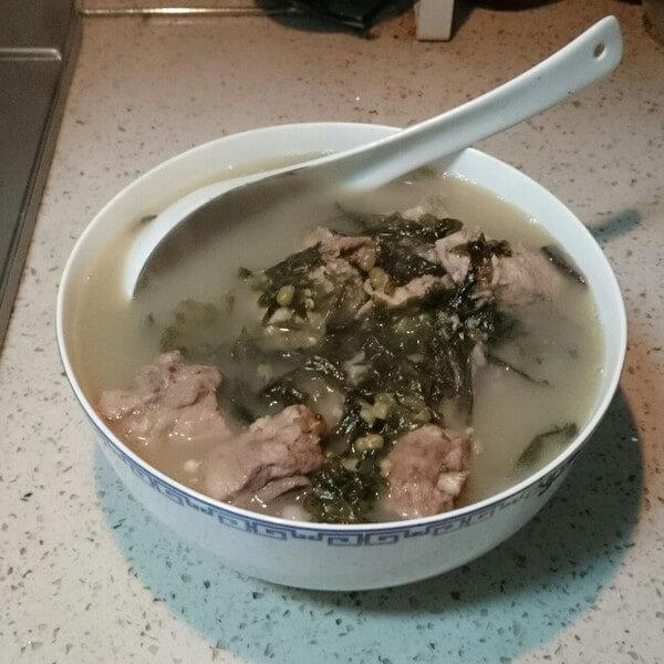 紫菜小排汤