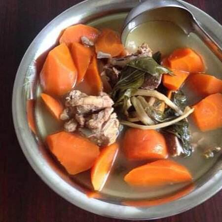 菜干胡萝卜汤
