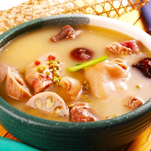 花生米猪肚汤