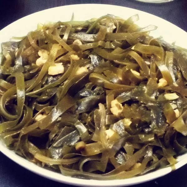 炒海带肉丝