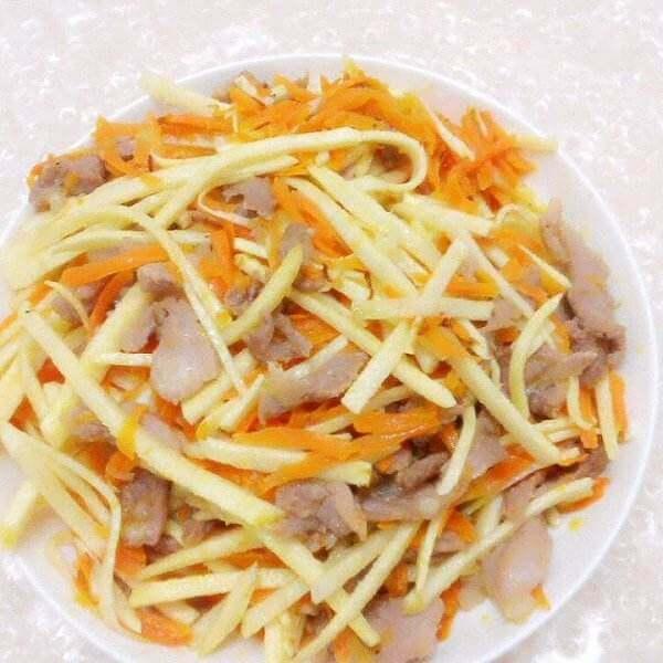 大豆蛋白烧雷笋