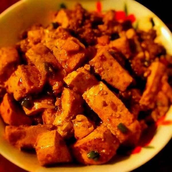 干菜烧豆腐