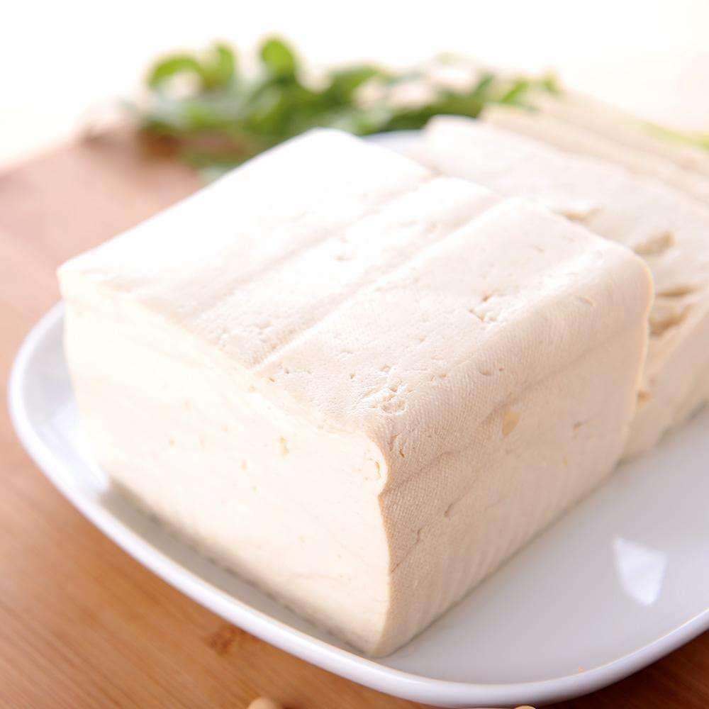 好吃的自制盐卤豆腐