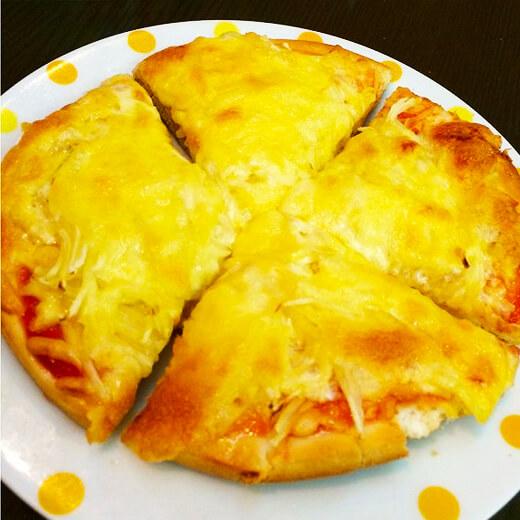 诱人的土豆丝比萨