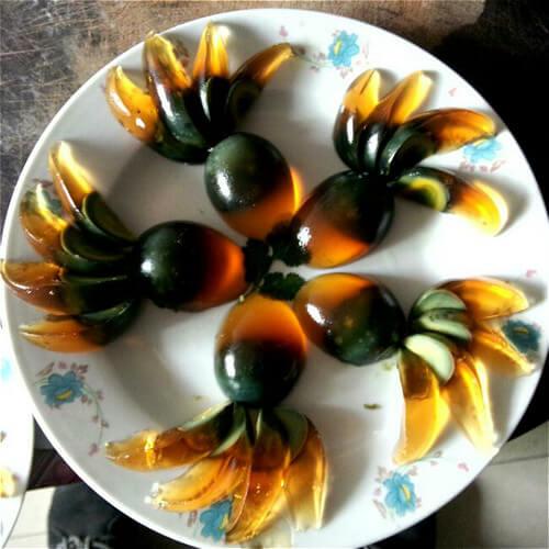 姜汁金鱼皮蛋