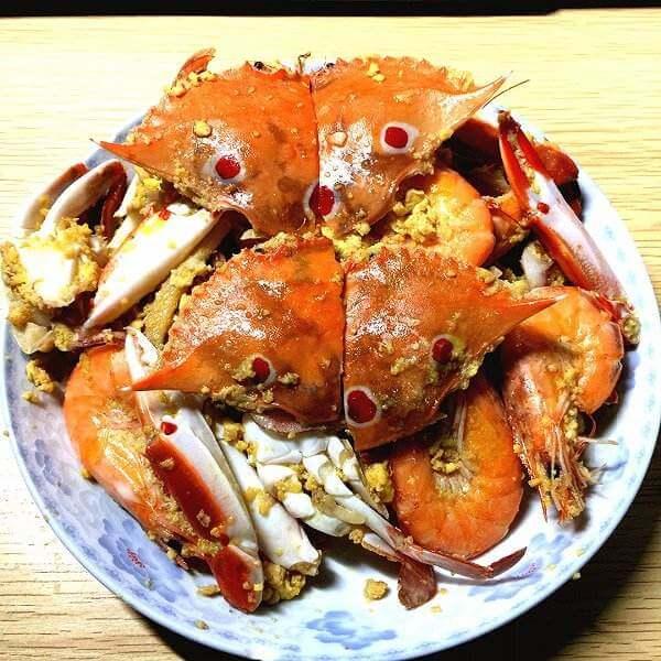 简单版沙锅螃蟹