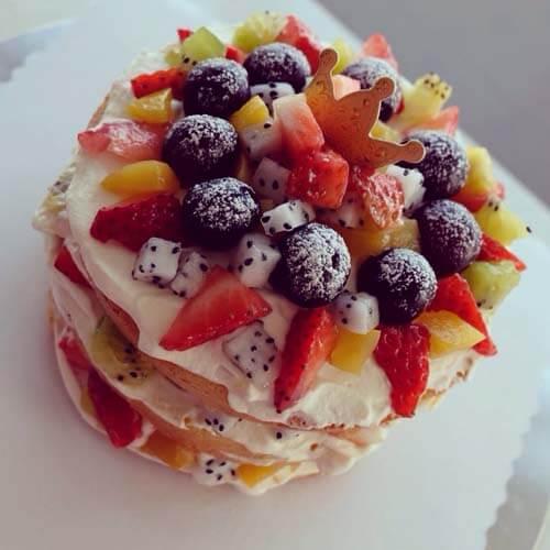 葡萄干棉花蛋糕
