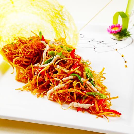 黄花菜烧肉块