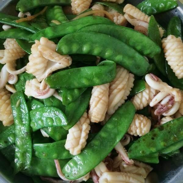 蒜香培根荷兰豆