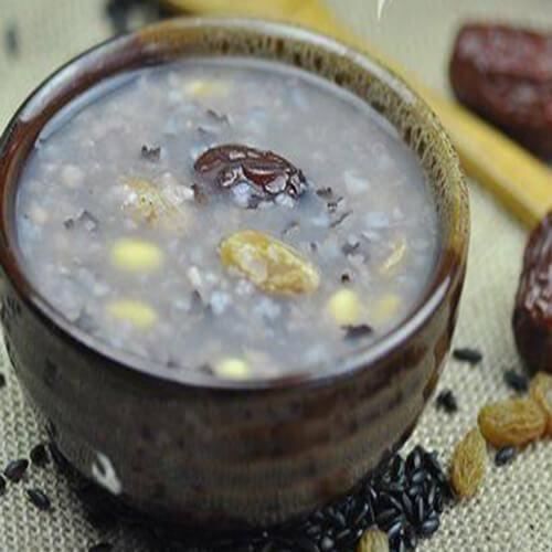 紫米葡萄粥