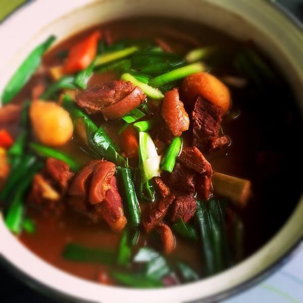 红萝卜羊肉煲