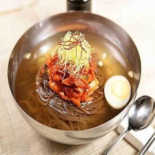 健脾开胃的鸡汤荞麦冷面