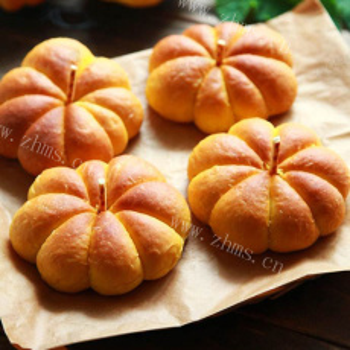 万圣节南瓜面包