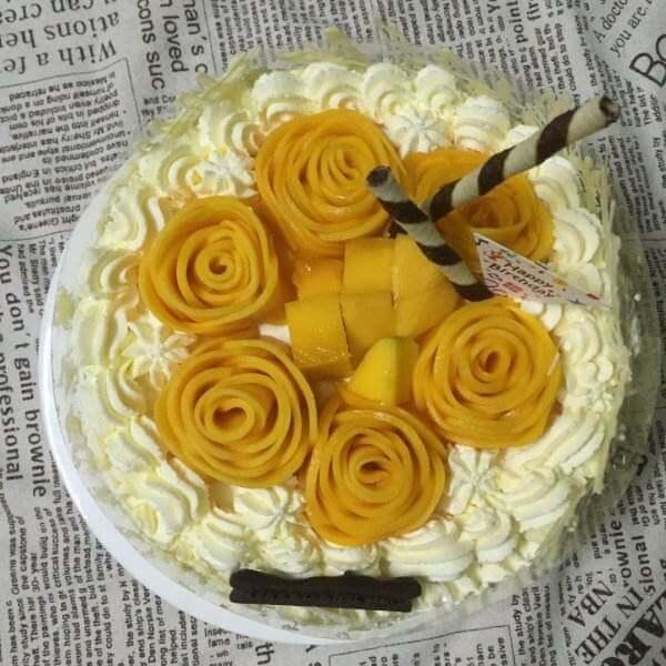 6寸百香果蛋糕