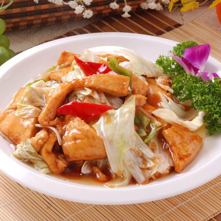 美味可口的大头菜炖干豆腐