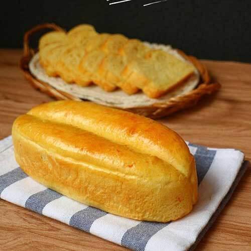 #DIY美食#香橙小吐司