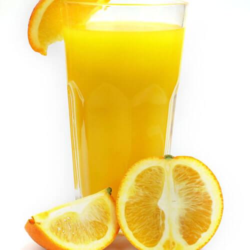 破壁机榨橙汁