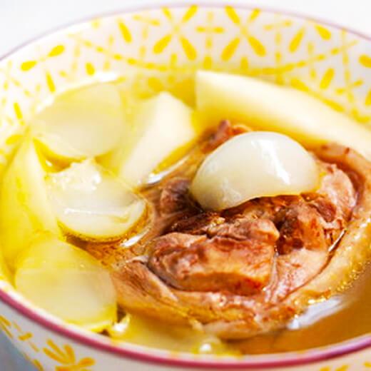淮山百合鸡汤