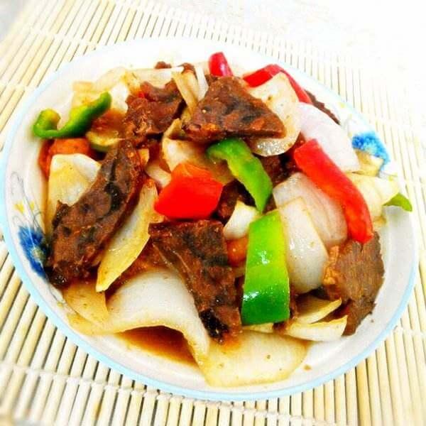 剁椒炒牛肉