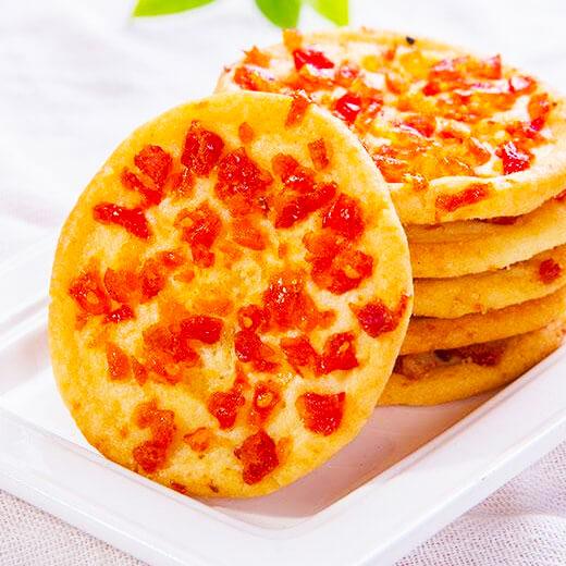 圣女果培根鲜虾披萨