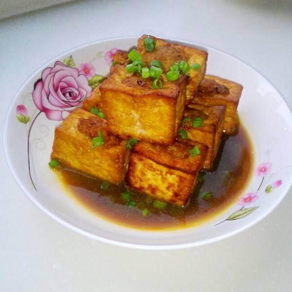 青红酿豆腐