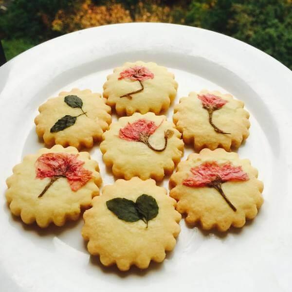 香草印花黄油饼干