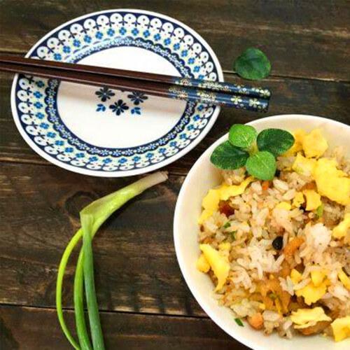 美味豉香海米蛋炒饭