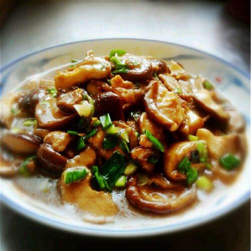 【懒人版】鲜菇炒瘦肉