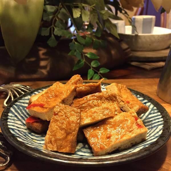 香卤油炸豆腐