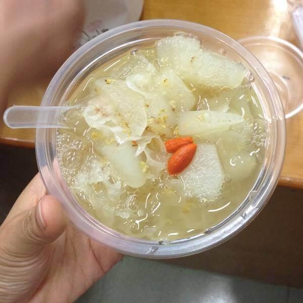 红薯桂花糖水
