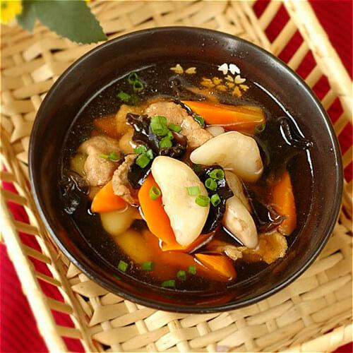 黑木耳瘦肉羹汤
