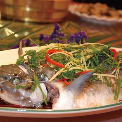 酱油水煮斑猪鱼
