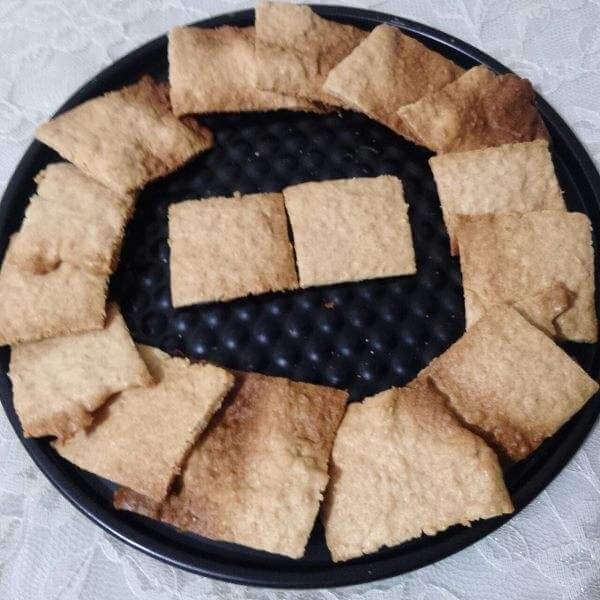 黑芝麻蛋白小脆饼