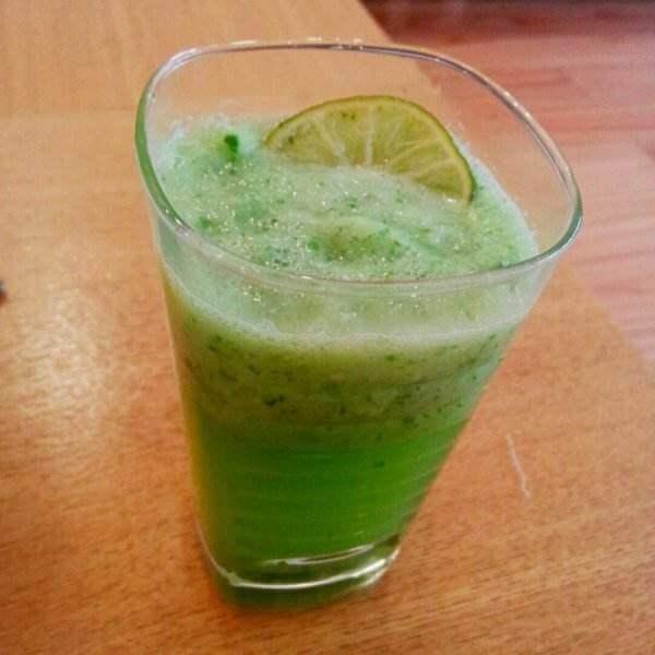 青瓜脐橙汁