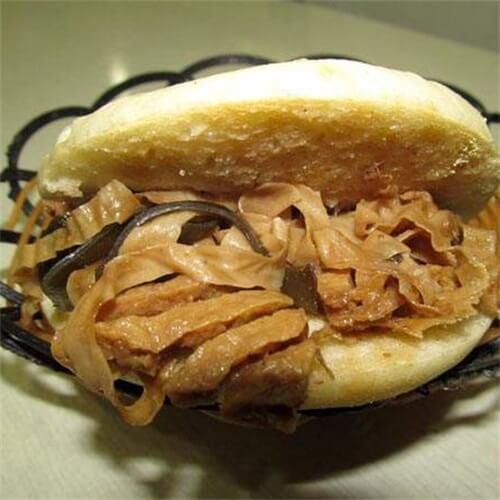 饼夹豆腐串