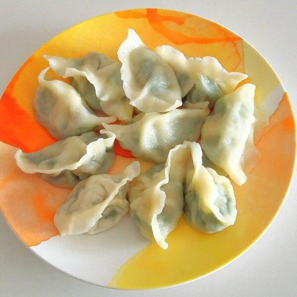 黄瓜鸡蛋饺子