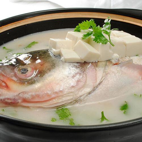 豆腐粉丝鱼头汤
