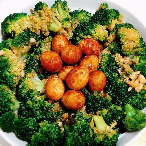 蔬菜芥末籽鹌鹑蛋