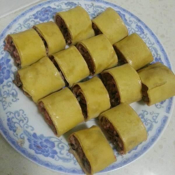 干豆腐酱饭卷